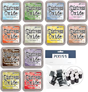 Tim Holtz Distress Oxide Ink Pads Summer 2018 Colors with 10 Pixiss Daubers