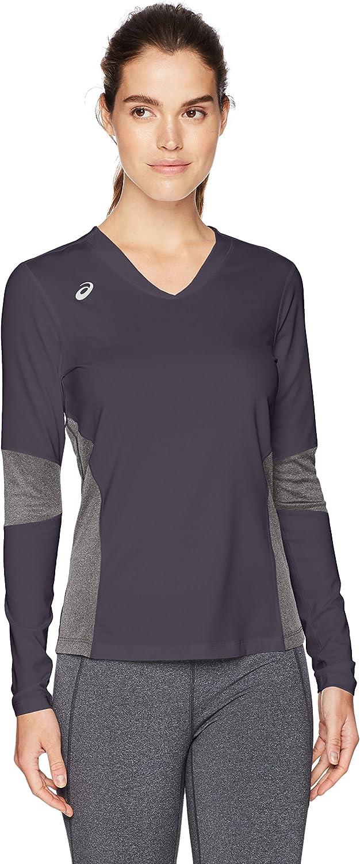 ASICS Damen Kder Long Sleeve Jersey, Damen, BT3279