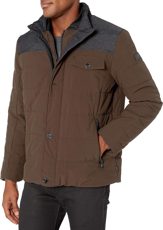 Max 47% OFF TUMI Men's Mixed Media Jacket 5 popular