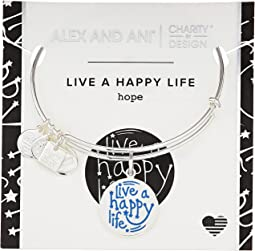 Alex and Ani - Charity By Design Live a Happy Life Bangle - Joe Andruzzi Foundation