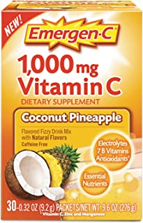 Immune Defense Drink Mix, Coconut Pineapple, 0.32 oz Packet, 30/Box 130603