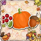 Key features of the Thanksgiving Photo Collage app:  Fantastic backgrounds that will make your collage extraordinary  Fabulous frames to give your design a brand new look  Cool stickers that are going to take your breath away  The best way to dec...