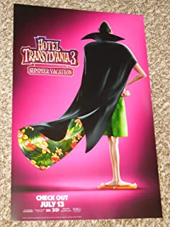 Hotel Transylvania 3 Summer Vacation Poster 11x17 inch Promo Movie Poster
