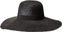 San Diego Hat Company WSH1108 Round Crown Wheat Straw Sun Brim