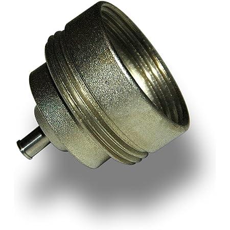 Danfoss-Adaptador plateado para válvula «Comap»M28, referencia: 014G0258