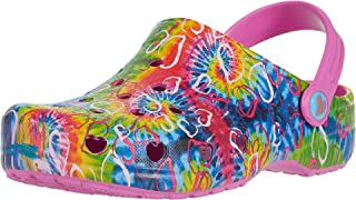 Kids Baby Girl's Tie-Dye Clog with Strap (Toddler)