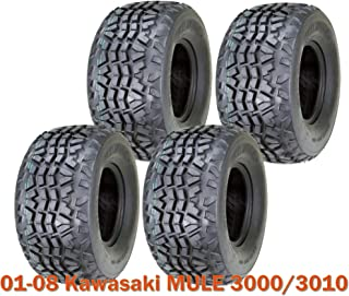 Set 4 Utility ATV tires 23x11-10 for 01-08 Kawasaki MULE 3000/3010 High Load Cap