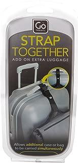 Go-Travel Add-A-Bag Luggage Strap, Black, 219