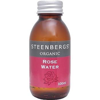 Steenbergs Organic Rose Water 100 ml (Pack of 3)