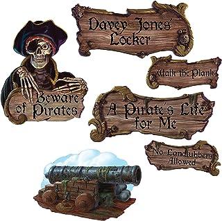 Pirate Cutouts (4/Pkg)