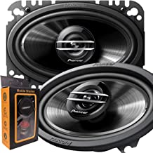 Pair of Pioneer TS-G4620S 400W Max (60W Rms) 4