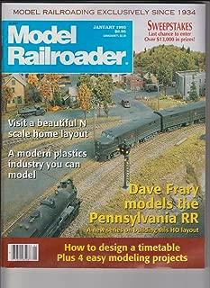Model Railroader January 1993 Vol. 60, Number 1