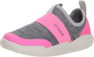 Crocs Kids' Swiftwater Easy-On Heathered Shoe