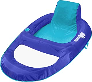 SwimWays Spring Float Recliner XL – Extra Large Swim Lounger for Pool or Lake