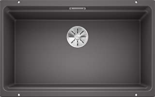 Blanco 铂浪高 ETAGON 厨房水槽 岩石灰色 80 cm Unterschrank 525168