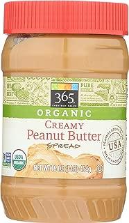365 Everyday Value Organic Creamy Peanut Butter, 16 oz