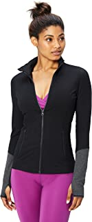 Amazon Brand - Core 10 Women's (XS-3X) 'Icon Series' The Ballerina Full-Zip Jacket
