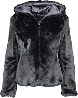 Save The Duck Luxury Fashion Womens D3354WFURY900001 Black Down Jacket | Fall Winter 19