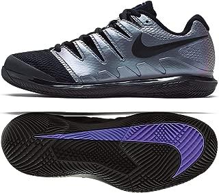 Air Zoom Vapor X HC AA8030-900 Black/Multi Color Men's Tennis Shoes