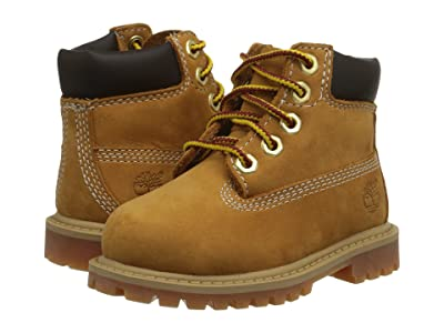 Timberland Kids 6 Premium Waterproof Boot Core (Toddler/Little Kid) Boys Shoes