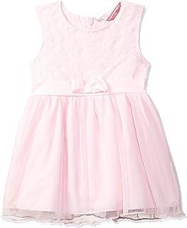Amazon Brand - Jam & Honey Polyester Girls' Dresses & Jumpsuits Knee-Length Dress