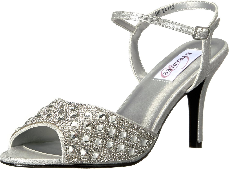 Dyeables, Inc Womens Womens Lynn Dress Sandal