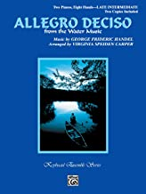 Allegro Deciso (from The Water Music): Sheet (Keyboard Ensemble Series)