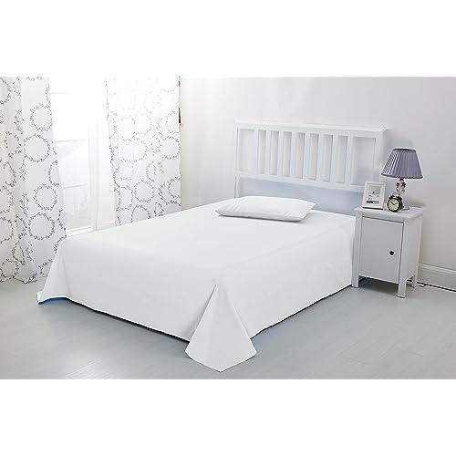 Single Flat Sheets For Single Beds Amazon Co Uk