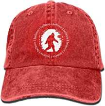 flys Bigfoot I Believe Baseball Hat Men and Women Summer Sun Hat Travel Sunscreen Cap Fishing Outdoors