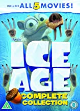 Ice Age 1-5 plus a Mammoth Christmas 2002
