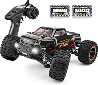 RC Cars 16889, 1:16 Scale 2.4Ghz Remote Control Truck 4x4 Off Road Trucks, Waterproof RTR RC Monster Truck 36KM/H, Remote ...