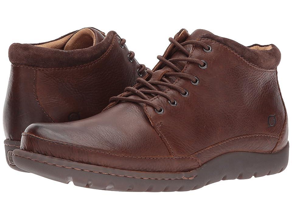 Born Nigel Boot (Brown/Dark Brown Combo) Men