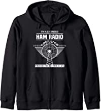 Funny Ham Radio Operator Radio Amateur Morse Hobby Code Zip Hoodie