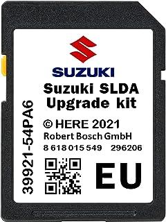 Nieuwste 2021/2022-V1 SUZUKI SLDA SD KAART 39921-54PA6 Navigatie Update SD CARD + Suzuki Upgrade Kit - VITARA, IGNIS, SWIF...