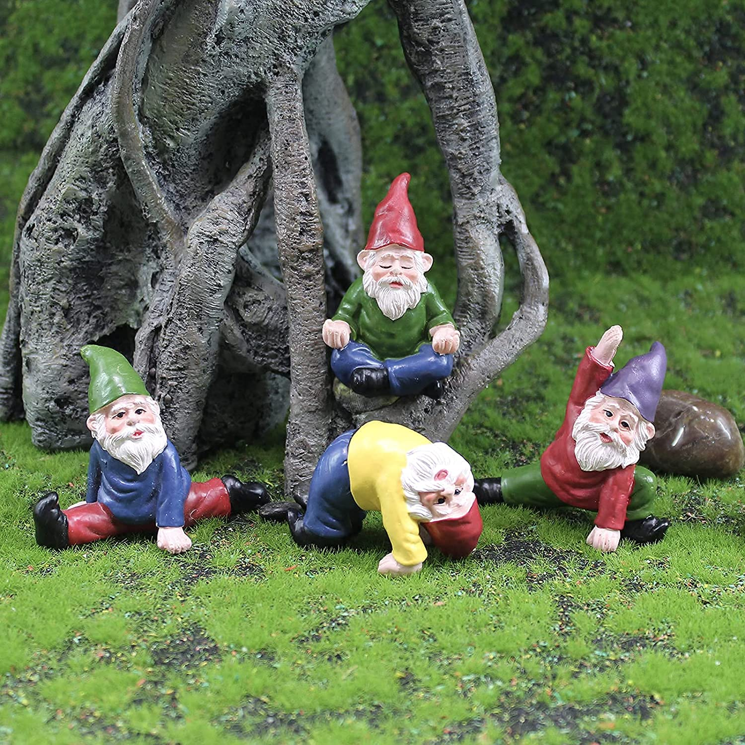 Fairy Garden Clearance SALE Limited time Accessories Yoga Flow Figurines Kit Max 44% OFF Gnomes
