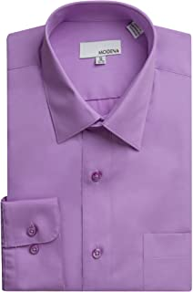 Modena Men's Long Sleeve Dress Shirt - Colors - All Sizes (Including Big & Tall)