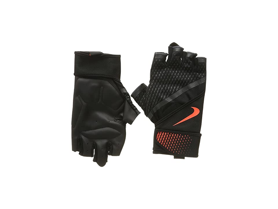 Nike Destroyer Training Gloves (Black/Anthracite/Total Crimson) Athletic Sports Equipment