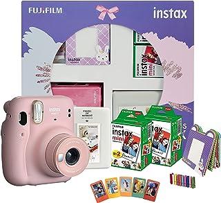 Fujifilm Instax Mini 11 Instant Camera Happiness Box Blush Pink