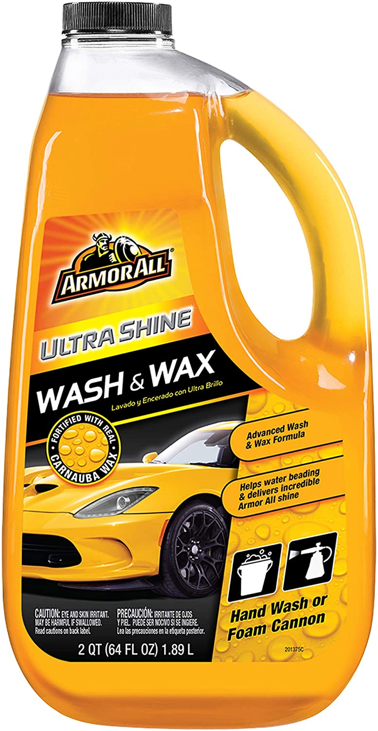Armor All 10346  64oz Bottle Ultra Shine Wash and Wax  $4.58 Coupon
