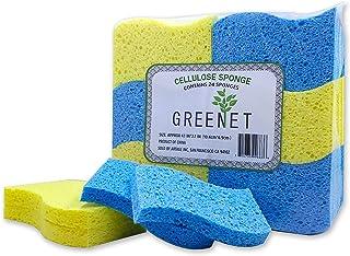 Cleaning Sponges Bulk Sponges, 24 Pack+ 2 Free Heavy Duty Scouring Pads, Sponges Bathroom Sponge Kitchen,Cleaning Handy Sp...