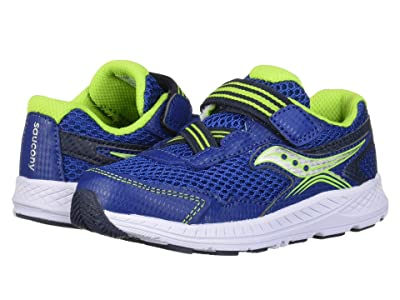 Saucony Kids Ride 10 Jr (Toddler/Little Kid) (Blue/Navy) Boys Shoes