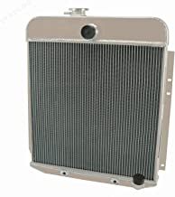 STAYCOO 2 Row All Aluminium Radiator for Plymouth Deluxe Suburban 3.6L 3.8L GAS 1949 1950