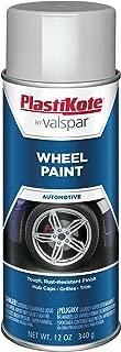 grey alloy wheel paint
