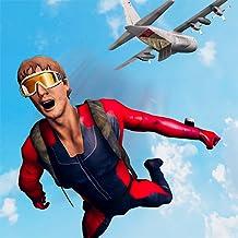 Sky Dive Airplane Adventure Simulator 3D: Wingsuit Parachute Gliding Skydiving Crazy Flying Adventure Simulator Games Free...