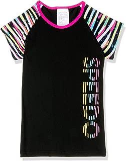 Speedo Girls' Zebra Streak Cap Sleeve SUNTOP