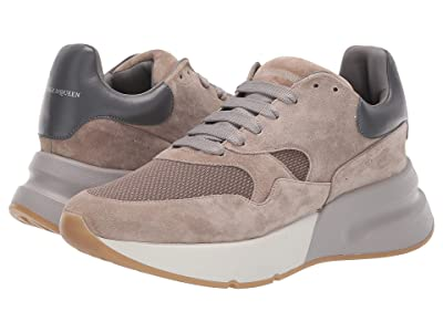 Alexander McQueen Multicolor Runner (Light Camel/Smoke/Beige) Men
