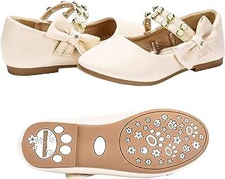 Toddler/Little Kids Cheryl Princess Uniform School Ballet Flower Mary Jane Girls Flats Dress Shoes