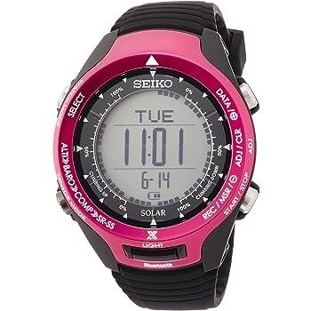 [セイコーウォッチ] 腕時計 プロスペックス ALPINIST Bluetooth通信機能 ソーラー ハードレックス SBEL003