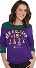 Touch by Alyssa Milano NBA New Orleans Jazz Kick-Off Tee, Large, Purple