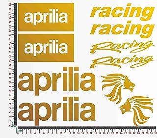 Aufkleber Kit kompatibel mit Aprilia Racing Kit 2 Motorrad, Artikelnr.: 1092.